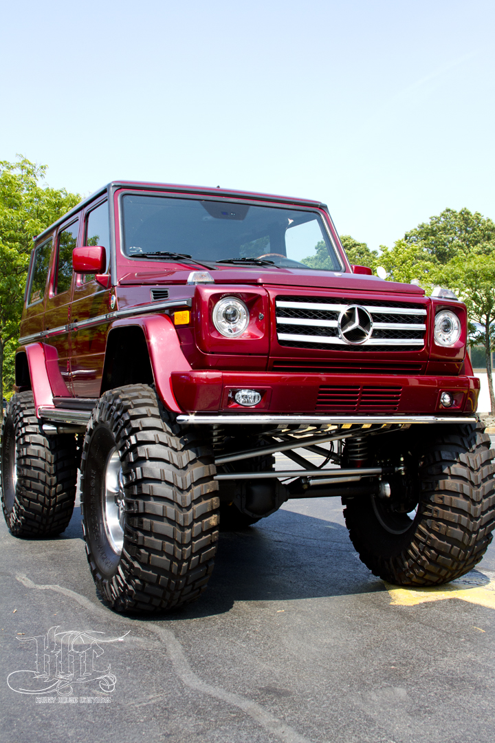 Check Out This One Of A Kind G Wagon As Far As We Know
