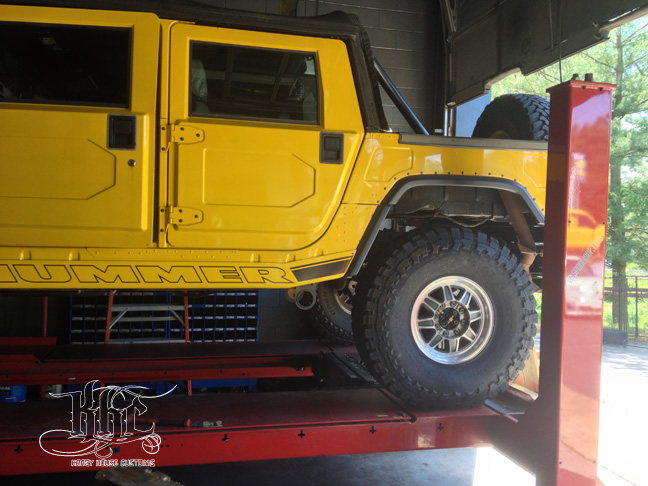 2002 Hummer H1 Krazy House Customs