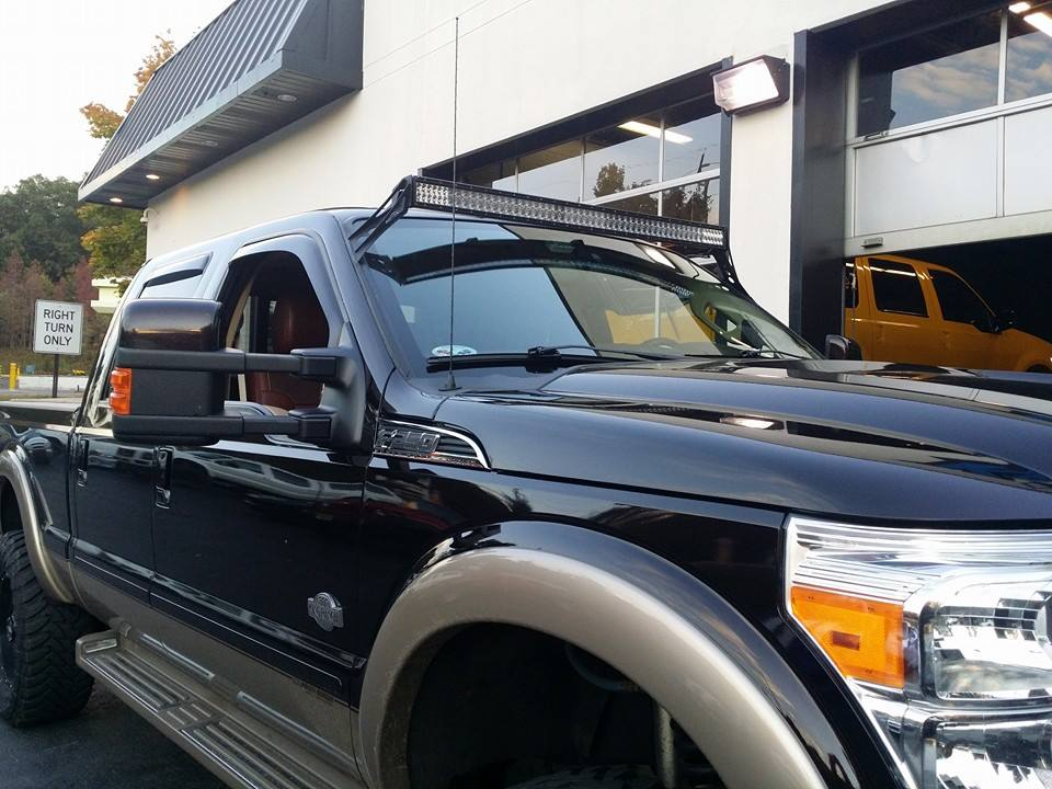 2012 F350 50 Rigid Lightbar Krazy House Customs