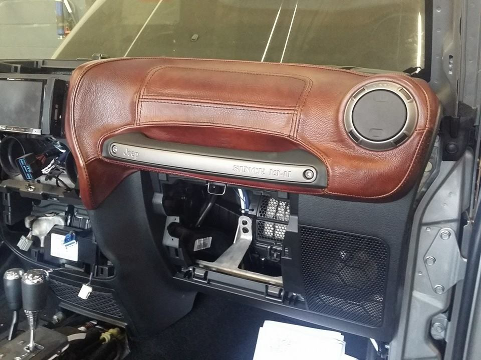 Custom Jeep Wrangler Interior Seats Dashboard Center